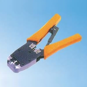 J500 & J500R Crimp, Strip and Cut Tool for RJ11(6P4C), RJ12(6P6C), R45(8P8C)*J500R with Ratchet
