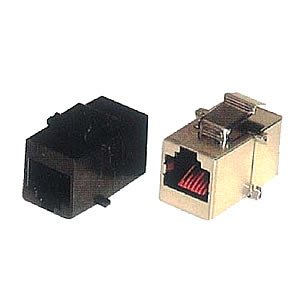 J301-C218U/S In-line Coupler for patch panel